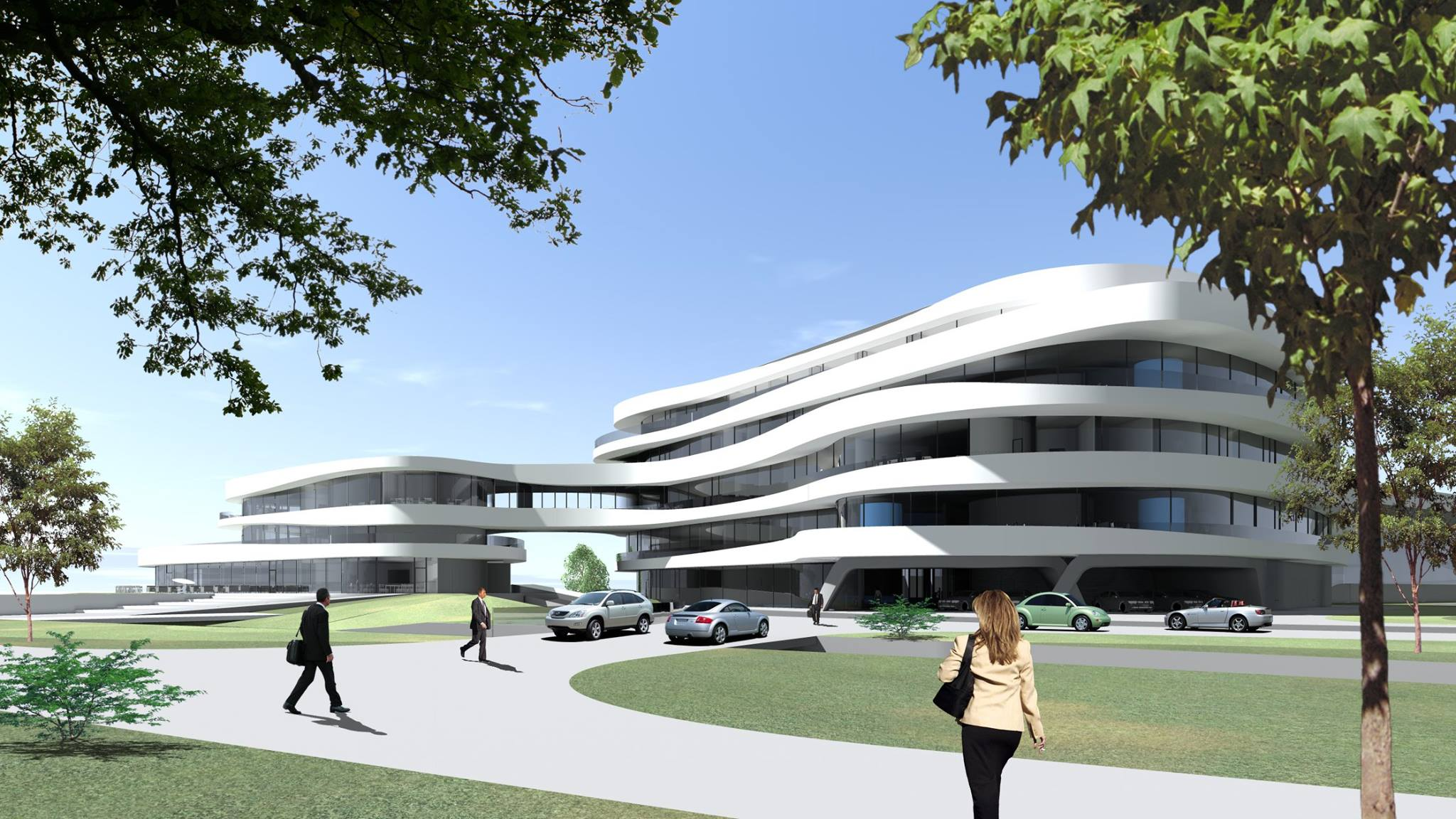 Bürogebäude BHS