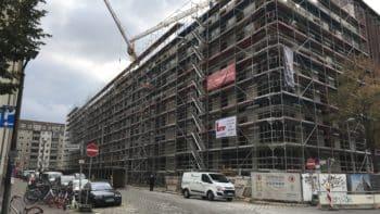 Baufortschritt in Berlin