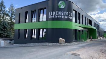 Bürogebäude und Lagerhalle der Elektrowerkzeuge Eibenstock
