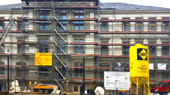Fassadensanierung Stadtschule Schwarzenberg